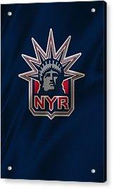 New York Rangers Acrylic Print by Joe Hamilton