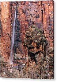 Zion National Park, Utah Acrylic Print by Scott T. Smith