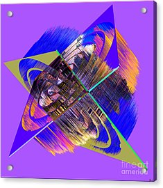 1422 Abstract Thought Acrylic Print by Chowdary V Arikatla