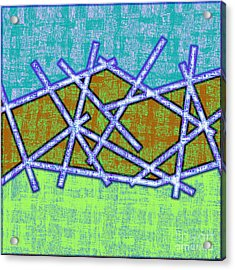 1455 Abstract Thought Acrylic Print by Chowdary V Arikatla