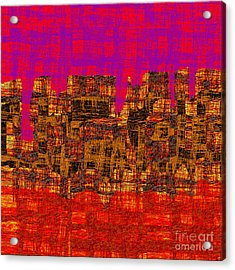 1457 Abstract Thought Acrylic Print by Chowdary V Arikatla