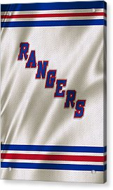 New York Rangers Acrylic Print by Joe Hamilton