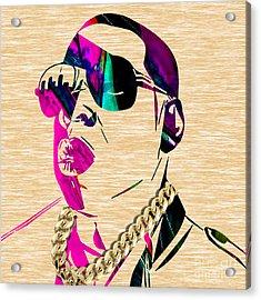 Jay Z Collection Acrylic Print by Marvin Blaine