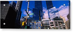 Low Angle View Of Skyscrapers Acrylic Print by Panoramic Images