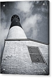 163 Feet Into The Clouds Acrylic Print by Mark Miller