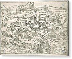 1692 Port-royal Earthquake, Jamaica Acrylic Print by British Library