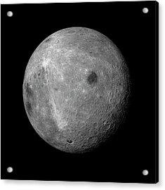 Far Side Of The Moon Acrylic Print by Detlev Van Ravenswaay
