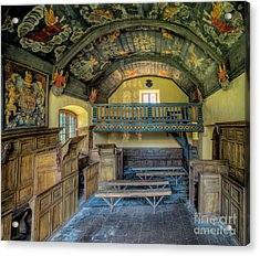 17th Century Chapel Acrylic Print by Adrian Evans