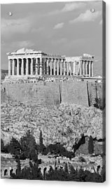 Acropolis Of Athens Acrylic Print by George Atsametakis