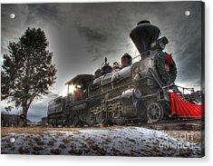 Acrylic Print featuring the photograph 1880 Train by Bill Gabbert
