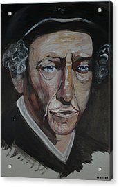 Bob Dylan Acrylic Print by Laurette Maillet