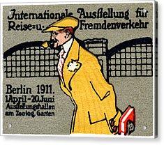 1911 Berlin International Travel Expo Acrylic Print by Historic Image