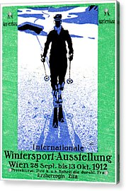 1912 Vienna Winter Sports Acrylic Print by Historic Image