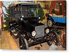 1917 Ford Model T Touring 5d25581 Acrylic Print by Wingsdomain Art and Photography