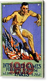 1919 Allied Games Poster Acrylic Print by Historic Image