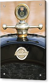 1922 Studebaker Touring Hood Ornament Acrylic Print by Jill Reger