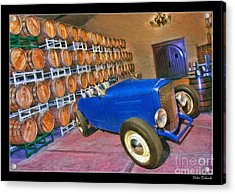 1927 Ford Roadster Acrylic Print by Blake Richards