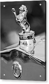 1927 Franklin Sedan Hood Ornament 2 Acrylic Print by Jill Reger