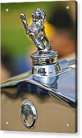 1927 Franklin Sedan Hood Ornament Acrylic Print by Jill Reger