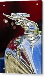 1928 Studebaker Hood Ornament 2 Acrylic Print by Jill Reger