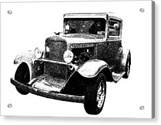 1930 Chevy Acrylic Print by Guy Whiteley
