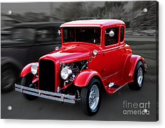1930 Ford Model A Coupe Acrylic Print by Gene Healy