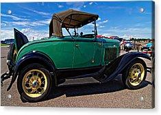 1931 Model T Ford Acrylic Print by Steve Harrington