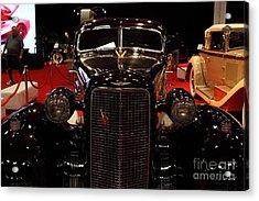 1934 Cadillac V16 Aero Coupe - 5d19875 Acrylic Print by Wingsdomain Art and Photography