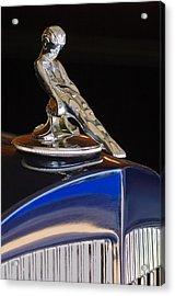 1934 Packard Hood Ornament Jill Reger Photographer Acrylic Print by Jill Reger