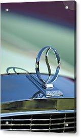 1934 Studebaker Hood Ornament Acrylic Print by Jill Reger