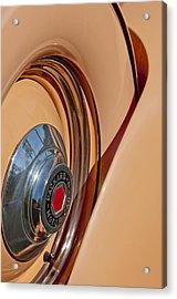 1936 Packard Spare Tire  Acrylic Print by Jill Reger