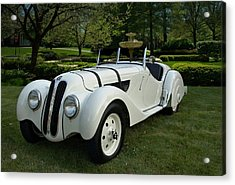 1937 Bmw 328 Roadster Acrylic Print by Tim McCullough