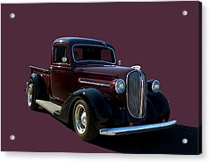 1938 Plymouth Hot Rod Pickup Truck Acrylic Print by Tim McCullough
