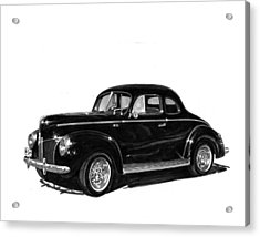1940 Ford Restro Rod Acrylic Print by Jack Pumphrey
