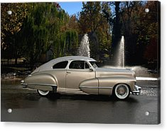 1947 Cadillac Coupe Rodtique Acrylic Print by Tim McCullough