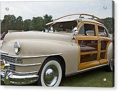 1947 Chrysler Acrylic Print by Jack R Perry