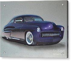 1949 Mercury Acrylic Print by Paul Kuras