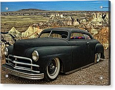 1949 Plymouth Low Rider Acrylic Print by Tim McCullough