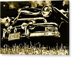 1951 Ford V8 Convertible Acrylic Print by Phil 'motography' Clark