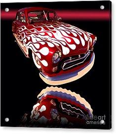 1951 Mercury Sedan Acrylic Print by Jim Carrell
