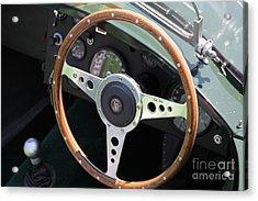 1952 Jaguar Xk120 Roadster 5d22971 Acrylic Print by Wingsdomain Art and Photography