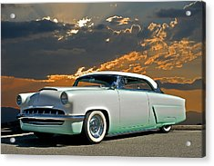 1954 Mercury Retro Custom Acrylic Print by Dave Koontz