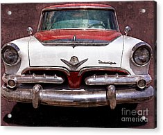 1955 Dodge In Oil Acrylic Print by Steve Kelley