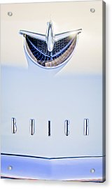 1956 Buick Special Hood Ornament Acrylic Print by Jill Reger
