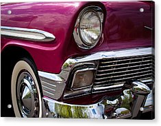 1956 Chevy Bel Air Acrylic Print by David Patterson