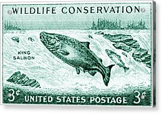 1956 Wildlife Conservation Stamp Acrylic Print by Historic Image