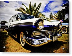 1957 Ford Custom Acrylic Print by motography aka Phil Clark