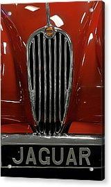 1957 Jaguar Xk 140 Mc Acrylic Print by Keith Gondron