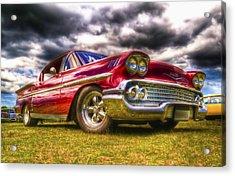 1958 Chevrolet Impala Acrylic Print by Phil 'motography' Clark