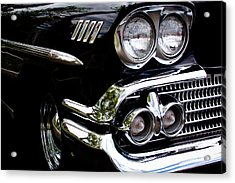 1958 Chevy Bel Air Acrylic Print by David Patterson